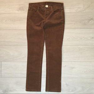 JCrew Honey Brown Corduroy Pants